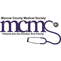 Monroe County Medical Society logo 240x240px 96ppi