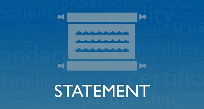 statement graphic