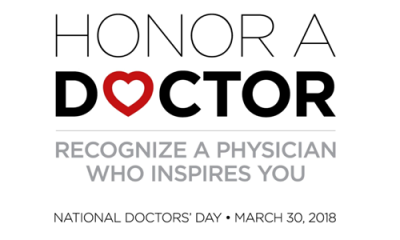 national doctors day logo