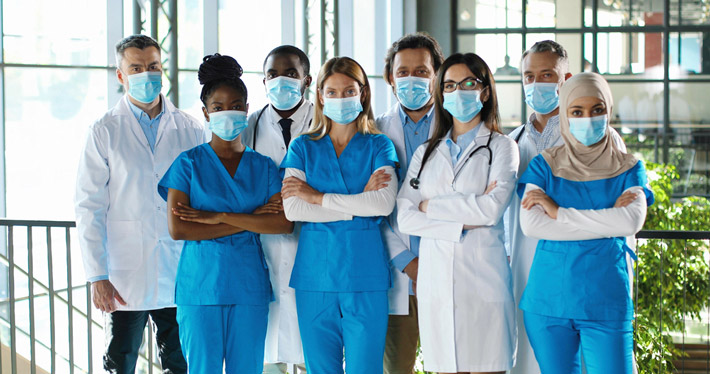 shutterstock Group of multiracial MDs 710px