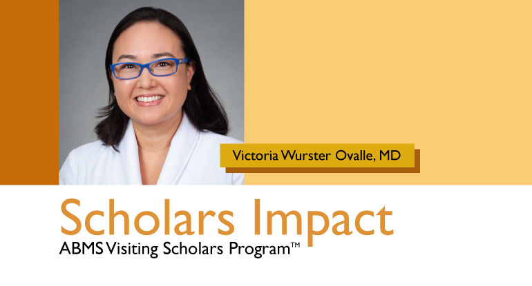 ABMS Visiting Scholar Website Banner Victoria Wurster Ovalle